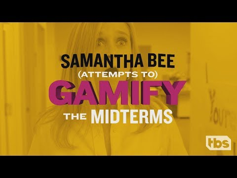 Gamify the Midterms: Can We Reward You For Voting? | September 12, 2018 Act 2 | Full Frontal on TBS