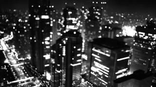 Black City Skyline -