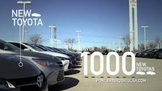 Fowler Toyota Tulsa February Specials