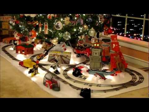 2012 Christmas  – 1950's Nostalgia Toys and Lionel Train Layout