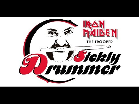 IRON MAIDEN - THE TROOPER (DRUM COVER)