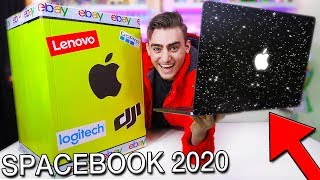 NEW SpaceBook MacBook Pro 2020 From A $25,000 Mystery Box (Ebay Unboxing)