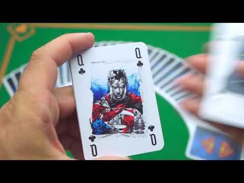 Baraja DC Super héroes - Superman video