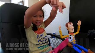 ROBLOX | Escape the Toy Story 4 Obby!! | Cali finished the game!!