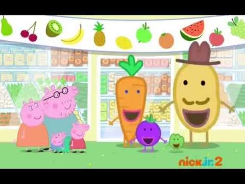 Peppa Pig  fruit day  YouTube