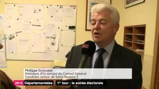 Départementales à Saint-Nazaire : réaction de Philippe Grosvallet