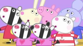 Peppa Pig Nederlands Compilatie Nieuwe Afleveringen | Peppa's Overnatting | Tekenfilm | Peppa de Big