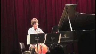 Antonio Lysy & Pascal Rogé live in NYC at Symphony Space on Sept. 2009 - part 2 out of 6.mov
