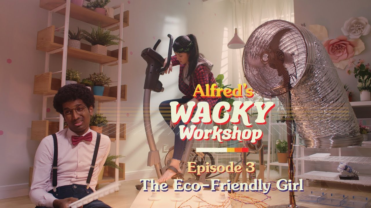 "The Eco-Friendly Girl | ""Alfred's Wacky Workshop"" EP3"