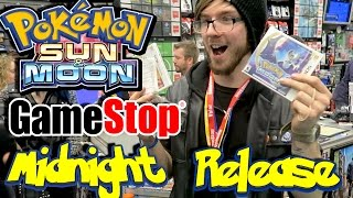 Pokemon Sun and Moon GameStop Midnight Release! Crazy