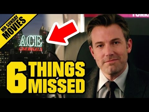 Watch BATMAN V SUPERMAN Super Bowl TV Spot Easter Eggs, References & Things Missed
