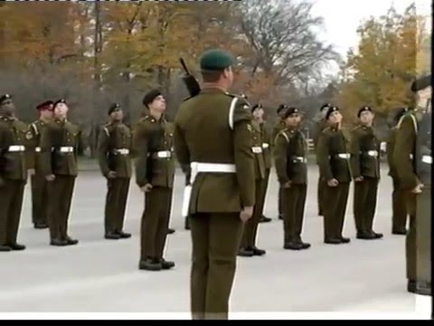 British Army, Basic Training, Passing Out Parade, PT 1