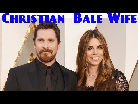 Christian Bale Wife Sibi Blazic  Christian Bale & Sibi Blazic Cute Photos  2017
