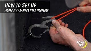 How To Set Up The Figure 9® Carabiner Rope Tightener
