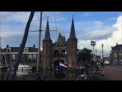Sneek Friesland Niederlande - Netherlands - Sightseeing City Tour 07 / 2017