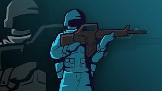 SpeedArt | Mascot Logo - Blue Soldier