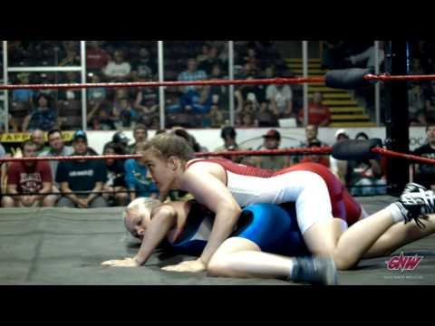 Rio Olympics 69kg Female Freestyle Wrestler Dori Yeats in Action!
