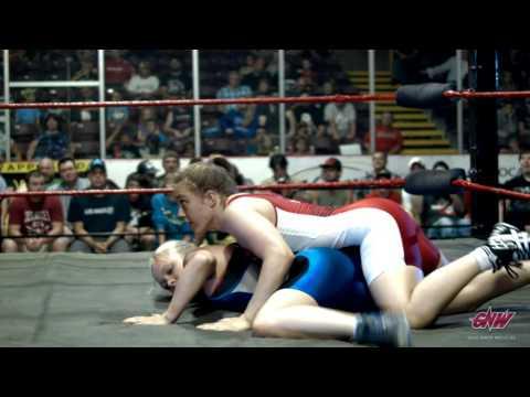 Rio Olympics 69kg Female Freestyle Wrestler Dori Yeats in Action!