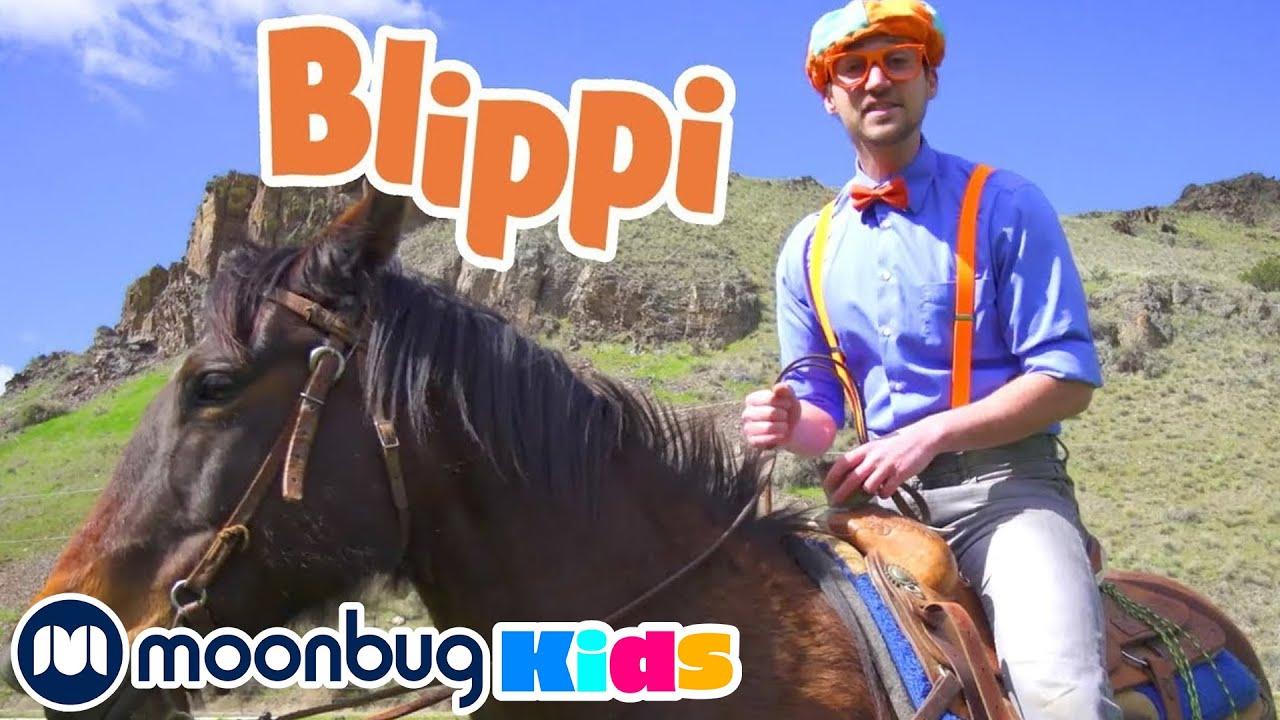 Blippi en el Rancho   Blippi Españo   Videos educativos para niños