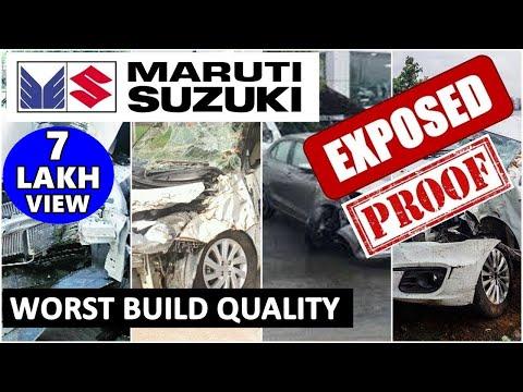 Maruti suzuki EXPOSED | maruti cars build quality | maruti vs others | reality of maruti | ASY