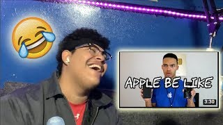 Apple Be Like Reaction video (Hilarious)