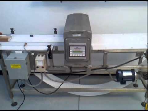 safeline metal detector standard 300khz refurbished youtube rh youtube com mettler toledo safeline metal detector manual pdf Mettler-Toledo Tampa FL