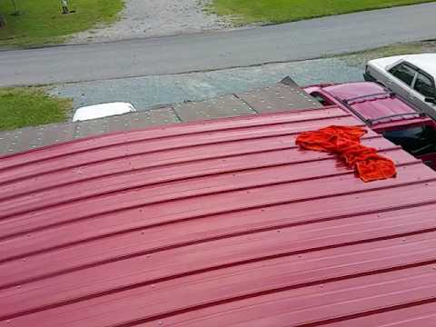 Mobile Home Diy Affordable Roof Repair Part 2 Of 2 Quot Sheet