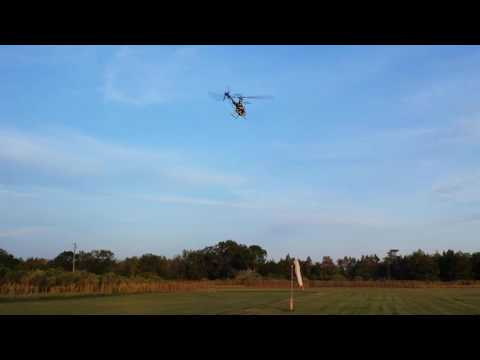 Eyal Plotnik fly T-REX 450 at Bay City Flyers  Florida October 30th 2016