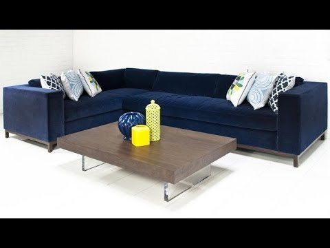 Navy Blue Sectional Sofas