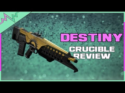 Destiny - Blind Perdition Crucible Review! (Trials of Osiris Pulse Rifle)