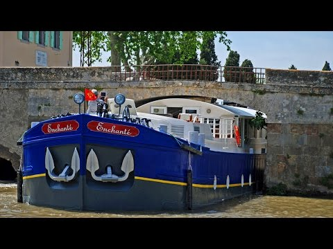 Navigating a 100ft Barge under the Lowest Bridge on the Canal du Midi | European Waterwaysi
