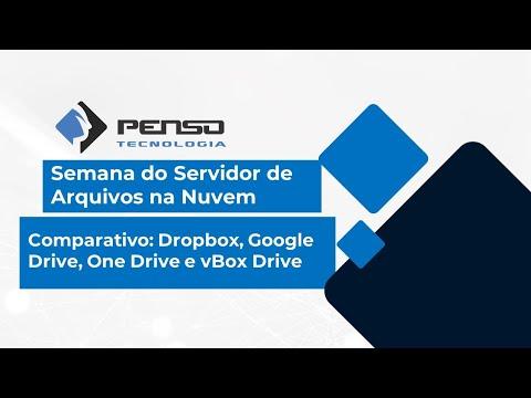 Comparativo: Dropbox, Google Drive, One Drive e vBox