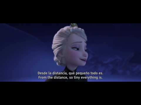 "Frozen - ""Let it go"" [Castilian Spanish w/English Subtitles]"