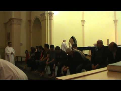 Holy Thursday - Washing of the Feet - Hymn The Lord Jesus