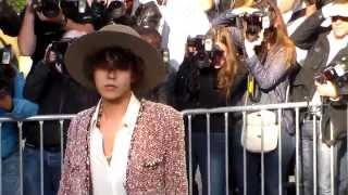 GD G-Dragon 권지용 @ Paris Fashion Week 30 september 2014 Chanel