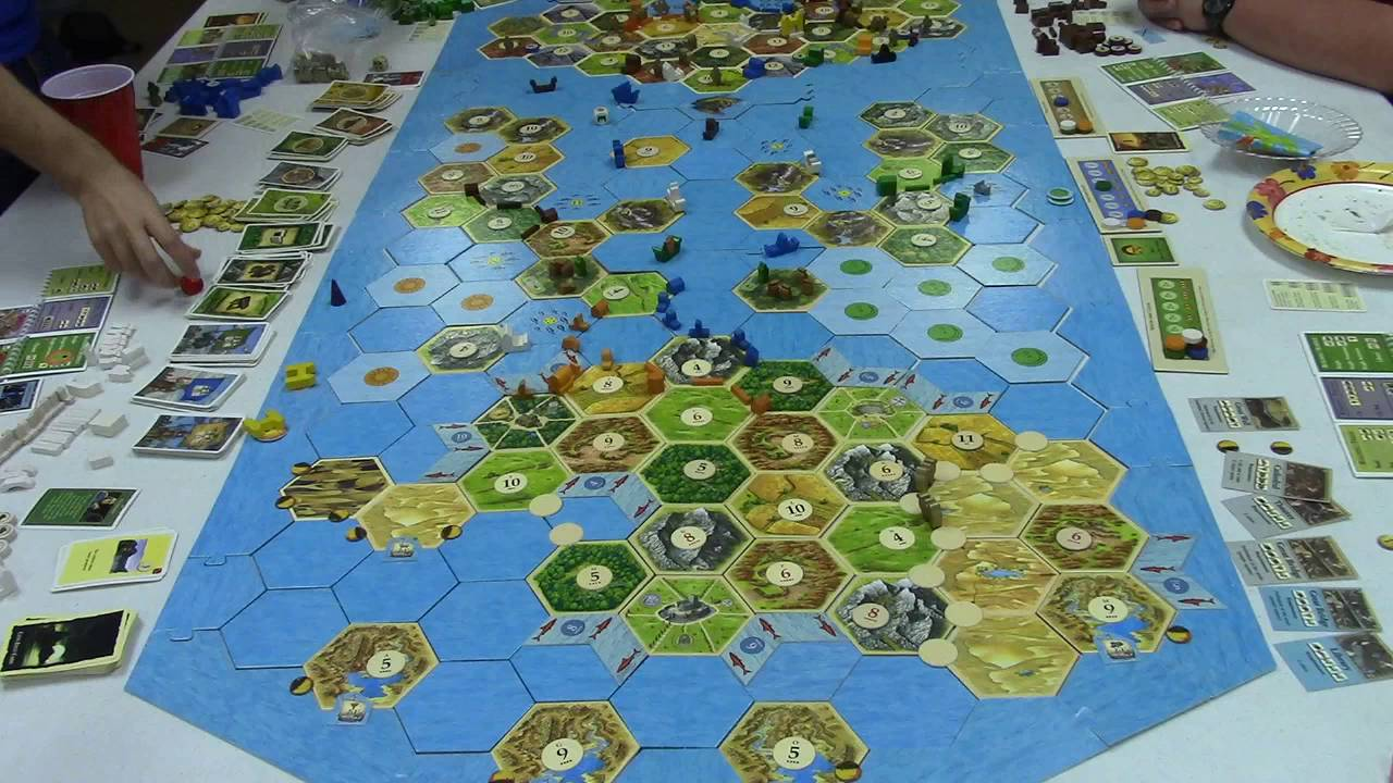 Catan All 4 Expansions Game Part 9