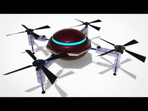 Maya / Keyshot tutorial : How to model a Drone