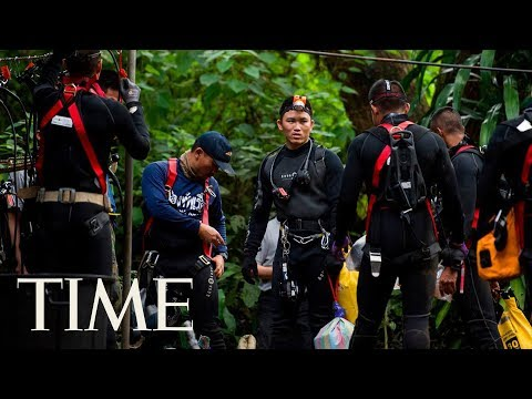 The 18-Day Rescue Mission That Saved 12 Thai Soccer Players & Their Coach Trapped In A Cave | Time