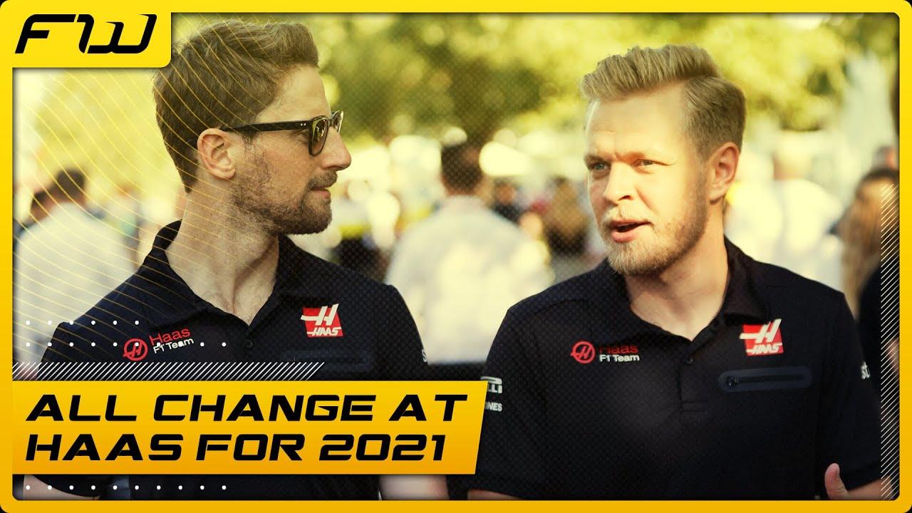 Grosjean and Magnussen To Leave Haas