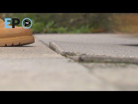 Los lucenses se quejan del mal estado de las aceras
