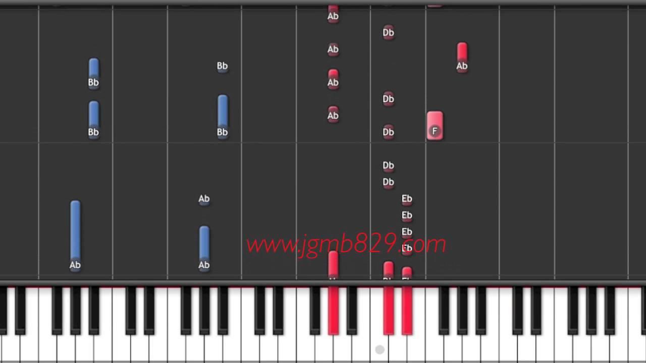 Exo dont go piano chords chordify hexwebz Gallery