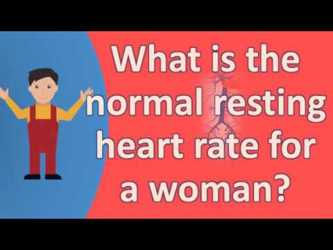What Is The Normal Resting Heart Rate For A Woman Best Health