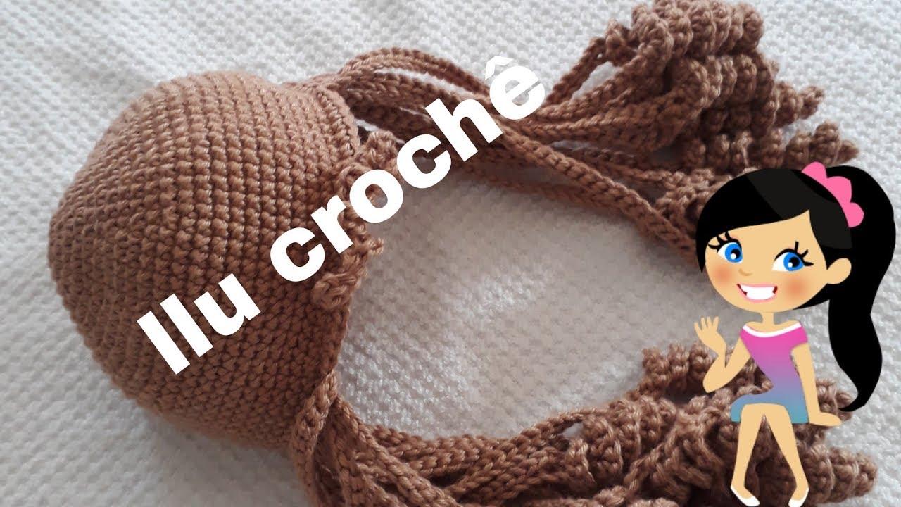 COMO FAZER E COLOCAR CABELO EM BONECA DE CROCHE - YouTube | 720x1280