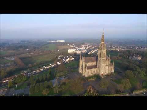 St. Macartan's Cathedral from the air