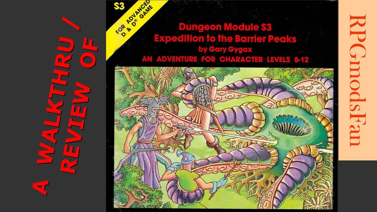 Dungeons /& Dragons D/&D 5E Campaign Book Expedition to the Barrier Peaks New