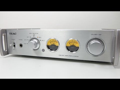 Teac AI 501DA Top Notch & Half Price DAC/AMP