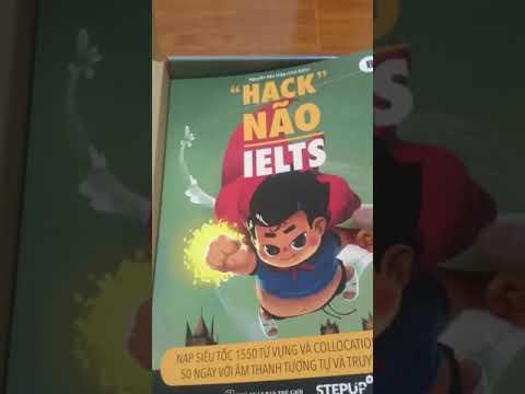 sách hack não 1500 từ vựng tiếng anh tiki - Mở hộp bộ 3 Combo sách tiếng Anh hack não 1500 từ vựng.