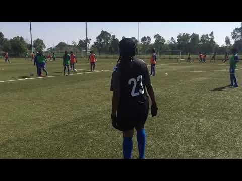Entraînement des Panthères U20 Féminines à Rabat au Maroc