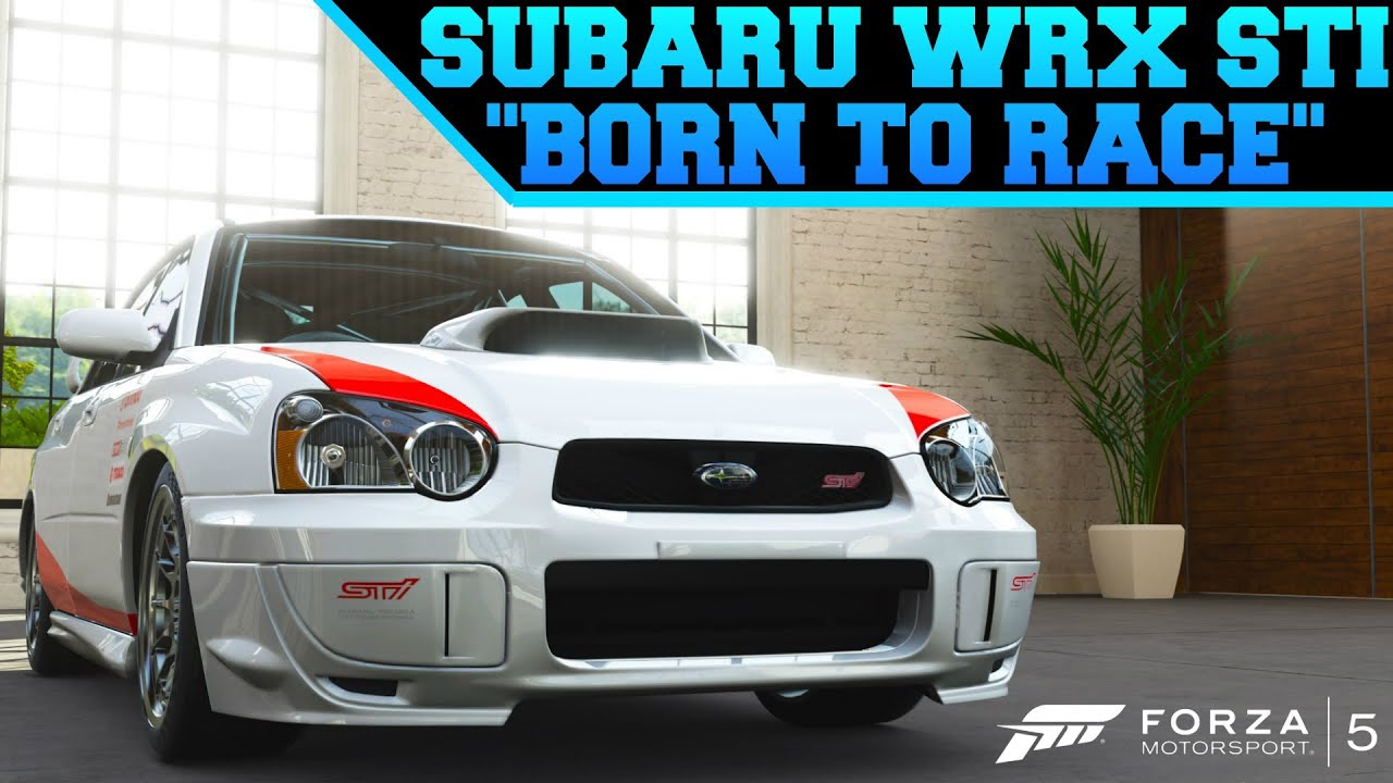 Forza Custom Cars Born To Race Subaru Impreza Wrx Sti