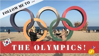 GOING TO THE OLYMPICS!    Pyeongchang 2018 Vlog